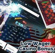 Low Wager Casino Bonus acesonlinecasinos.com